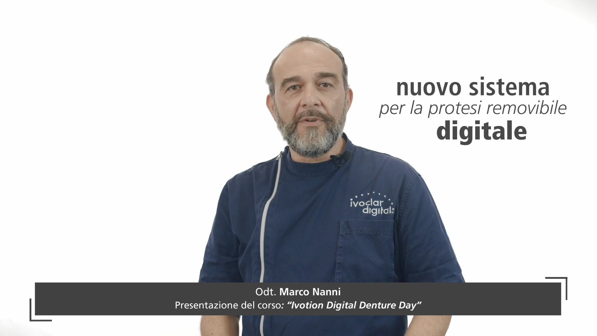 Ivotion Denture System Day | Workflow In-house e Outsourcing - ICDE, 21 Aprile 2021